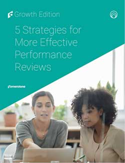 5-strategies FOR MORE EFFECTIVE PERFORMANCE REVIEWS