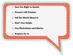 6 professional presentation tips