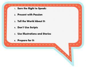 6 professional presentation tips